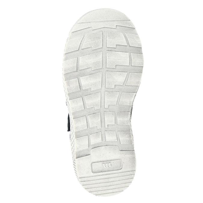Leather high-top sneakers mini-b, brown , 214-4203 - 17
