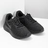 Ladies' black sneakers, black , 509-0157 - 26