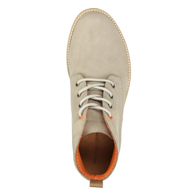 Men's Ankle Boots weinbrenner, beige , 846-8701 - 26