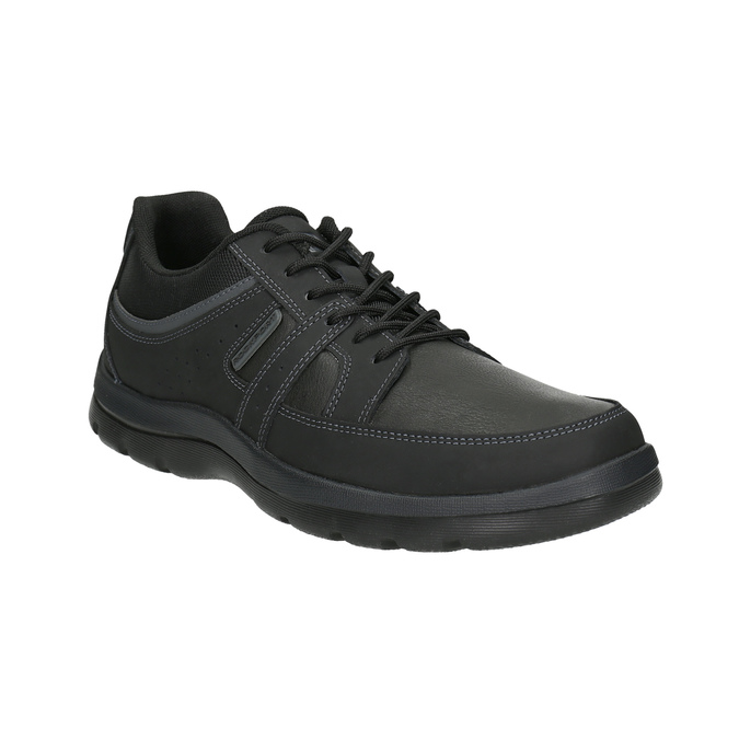 Men's casual sneakers rockport, black , 826-6035 - 13