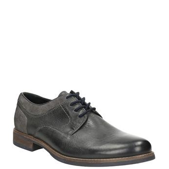 Men's casual shoes bata, gray , 826-2610 - 13