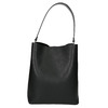 Ladies' two-tone handbag, black , 961-6173 - 17