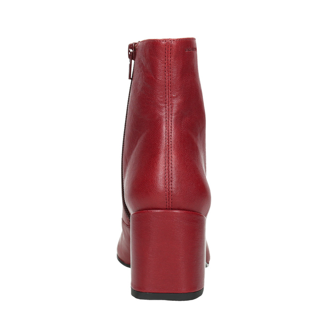 Red Leather High Boots vagabond, red , 716-5038 - 16