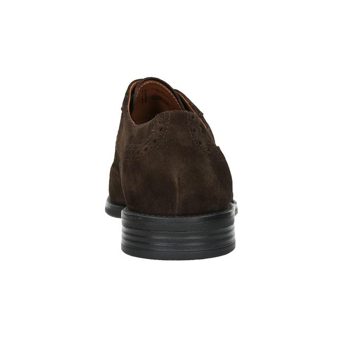 Men's Leather Brogue Lace-Ups vagabond, brown , 823-4017 - 16