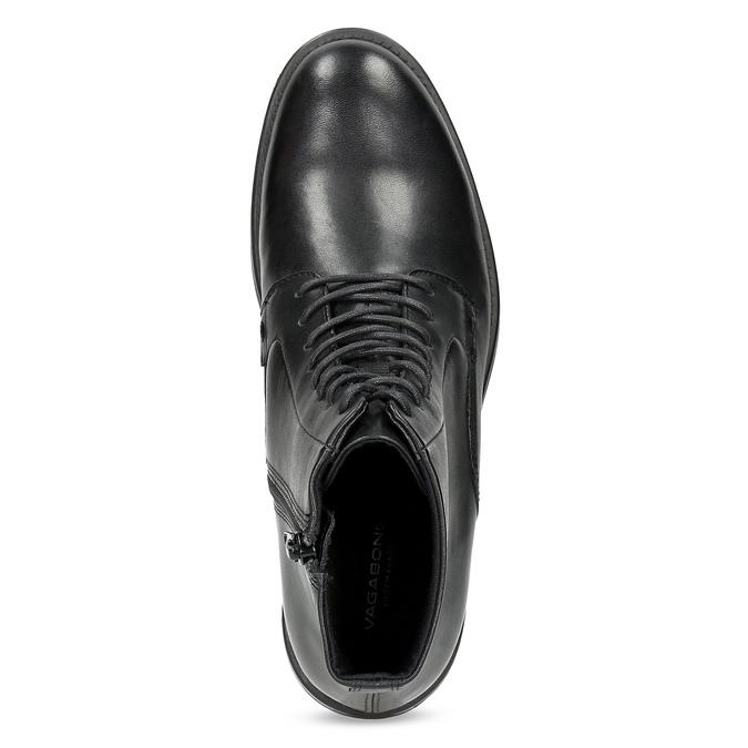 Ladies' Leather Ankle Boots vagabond, black , 524-6010 - 17