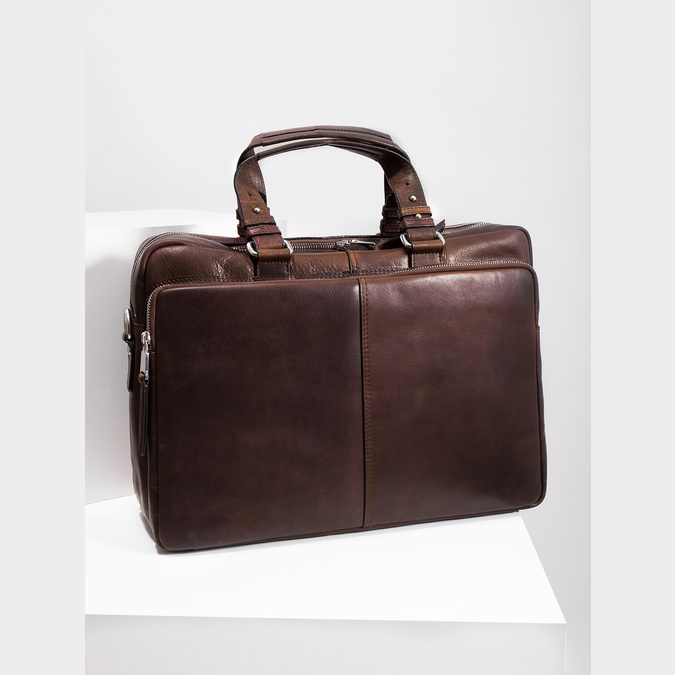 The Seymur Briefcase Bag bata, brown , 964-4106 - 18