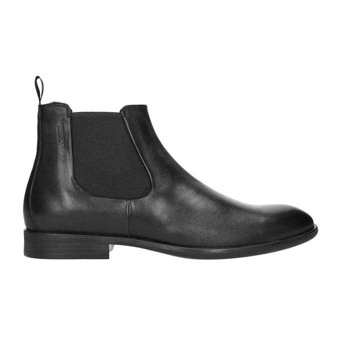 Men's Leather Chelsea Boots vagabond, black , 814-6024 - 26