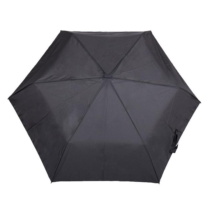 Black folding umbrella doppler, black , 909-6659 - 26