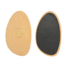 Half-insole from Leather bata, multicolor, 990-0107 - 26