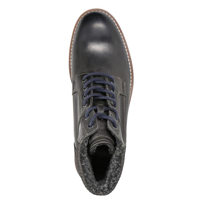 Men's Winter Ankle Boots bata, blue , 896-2657 - 26