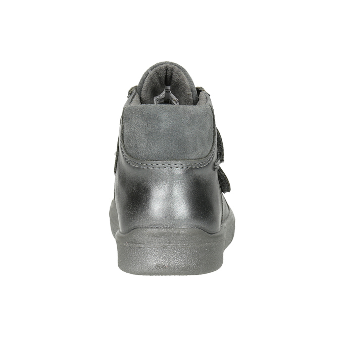 Children's ankle boots superfit, gray , 126-1037 - 16
