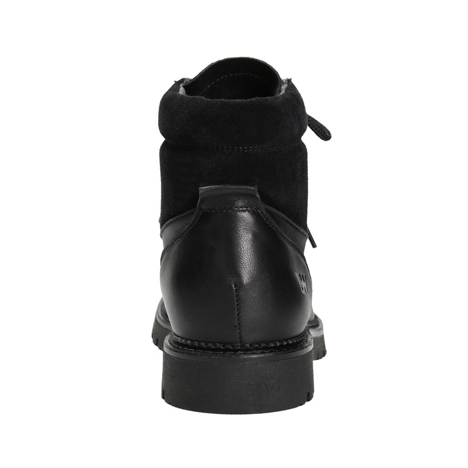 Ladies' winter boots weinbrenner, black , 596-6672 - 16