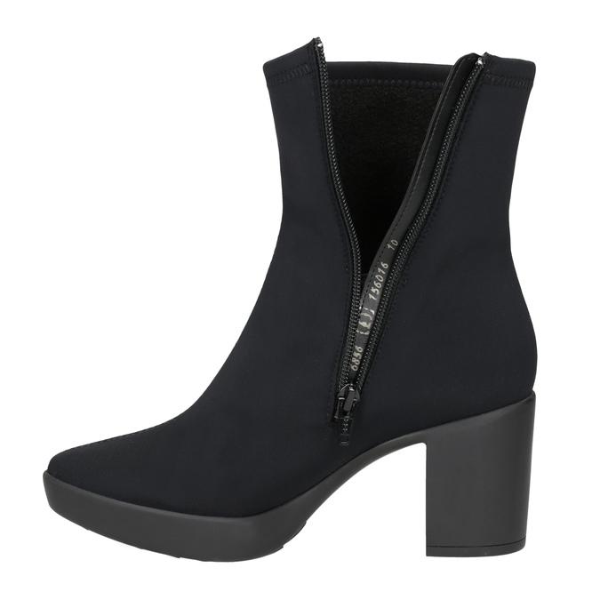 Platform High Boots hogl, black , 719-6059 - 15