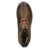 Leather Winter Ankle Boots bata, brown , 896-4661 - 26