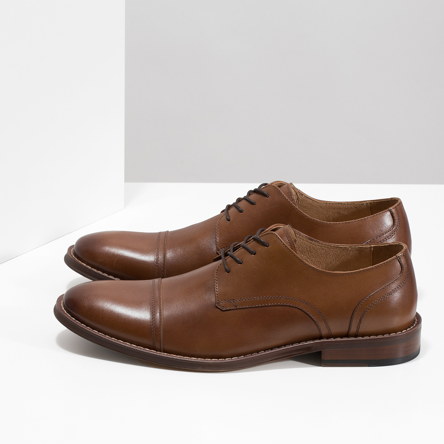 47753dcc36 Bata Brown leather Derby-style shoes - Dress