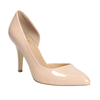 Patent pinkish cream-colored pumps insolia, beige , 721-5615 - 13