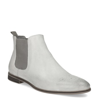 Ladies' Chelsea style boots bata, gray , 596-1684 - 13