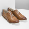 Ladies' leather shoes bata, brown , 526-3649 - 26