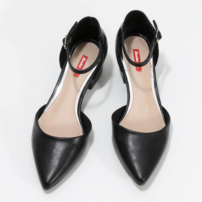 6216607 bata-red-label, black , 621-6607 - 16