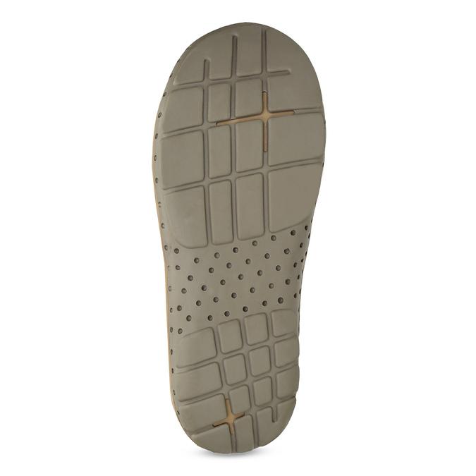 Ladies' flip-flops with a distinctive sole weinbrenner, red , 566-5611 - 18