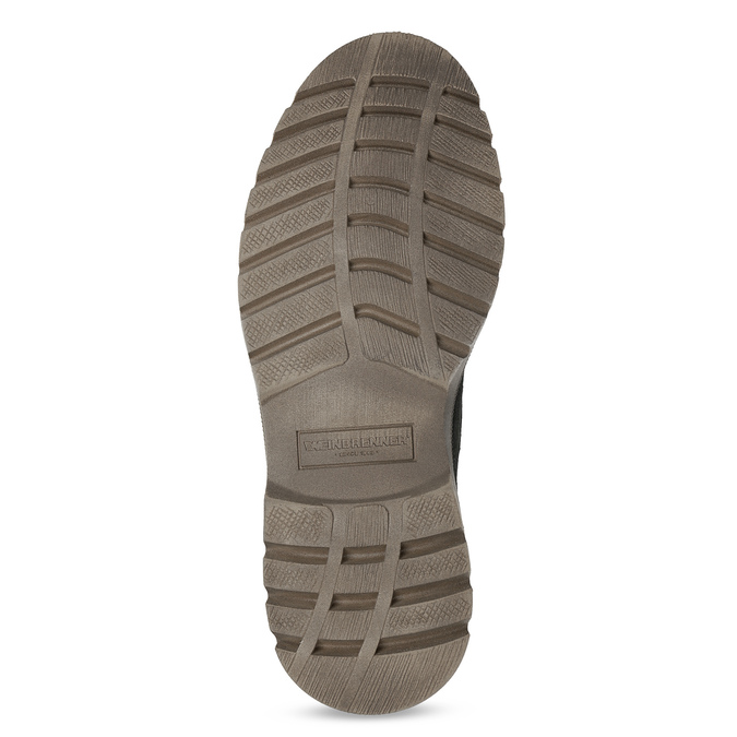 Men's leather winter boots, black , 896-6107 - 18