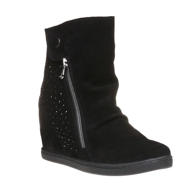 The Winnie Wedged Boot, black , 2018-793-6253 - 13