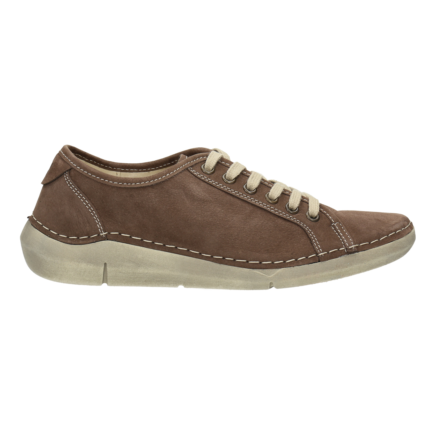 4013155145f Weinbrenner Casual leather shoes for ladies - No Heel